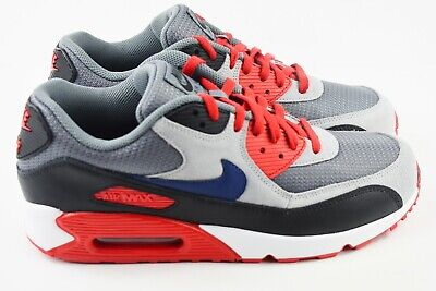 NEW NIKE AIR Max 90 iD Size 11.5 Black Red Grey shoes
