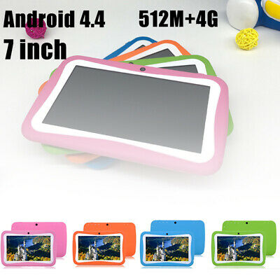 7 Inch Kids Android 4.4 Tablet PC Quad Core Wifi Camera Child Children Gifts UK