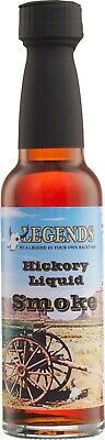 Legends Hickory Liquid Smoke, Flüssigrauch, Vegan 100ml