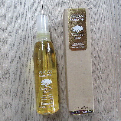 FarmaVita - ARGAM Sublime - Argan Oil Elixir - Multi-Use Beautifying Oil - 100ML