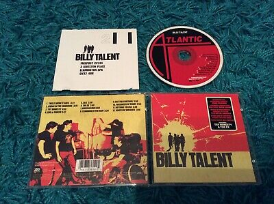 Billy Talent - Billy Talent 12 Track CD 2003 This Is How It Goes Try Honesty