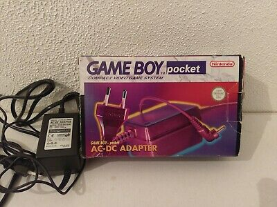 Chargeur Secteur Officiel Nintendo Ac-Dc Adapter Pour Game Boy Pocket