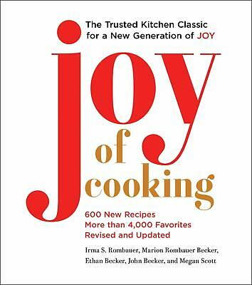 Joy of Cooking: 2019 Edition Fully Revised and Updated Hardcover – November 12