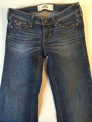 Hollister Jeans Straight Blue Women's Size 0R W24 L33