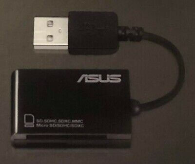 Asus SD and Micro SD Reader to Type A USB 2.0 Port (Male)