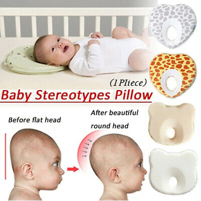 1Pc Baby Memory Foam Positioning Pad Pillow Stereotypes Infant Anti-rollover
