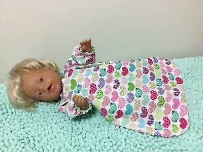 "Handmade Dolls Clothes To Fit 17"" Doll"