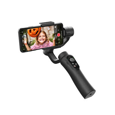 CINEPEER 3Axis Handheld Gimbal Stabilizer for Smartphones Portable Black Y5Y6