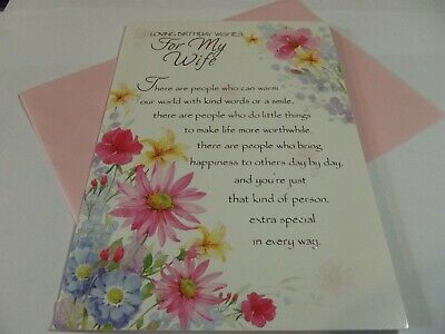Loving Birthday Wishes For My Wife..........Birthday Greetings Card