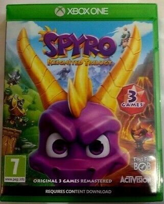 Spyro Reignited Trilogy - Xbox One - Great Condition - Fast Dispatch