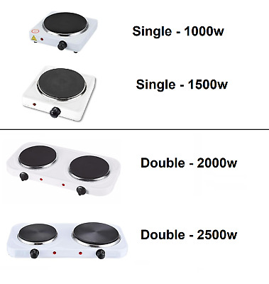 Portable Hot Plate Home Electric HotPlate Cooking Hob Stove Cooker Boiling Ring