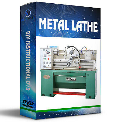 Learn how to operate a 7x10 Metal Lathe Dvd Tutorial