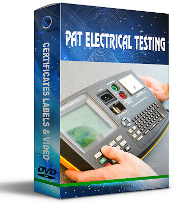 Pat Electrical Testing Certificates Exam Labels Training Dvd City & Guilds Test