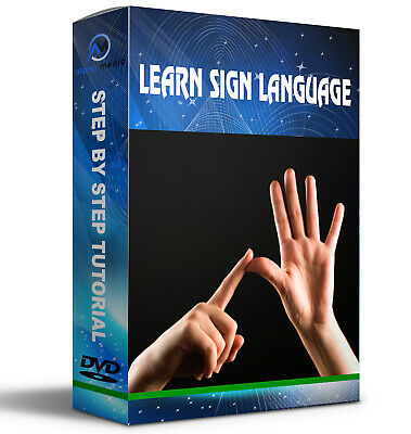 Learn Sign Language   Bsl For Beginners Dvd  Cdrom  Full  Course