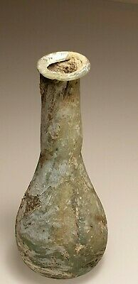 ANCIENT ROMAN GLASS ''Cosmetic Flask''. c. 1st – 3rd century AD.