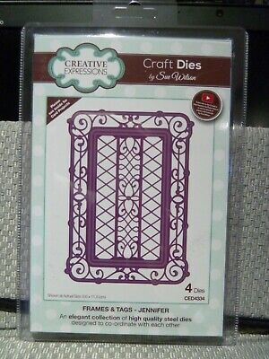 Creative Expressions by Sue Wilson Jennifer Frames & Tags CED4334