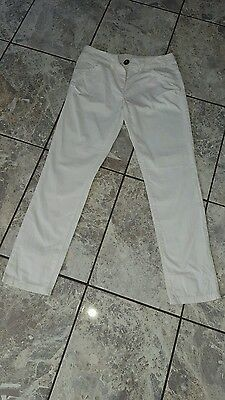 """Next"" White Summer Trousers (11yrs/height 146cm)"