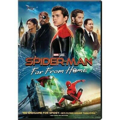 Spider-Man Far From Home DVD 2019 - UK Brand New & Sealed***