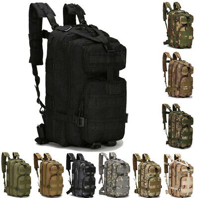 Outdoor Military Tactical Rucksacks Backpack Sport Camping Hiking Trekking Bag