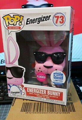 Funko Pop! Ad Icons - Energizer Bunny (Flocked) Vinyl Figure New In Box