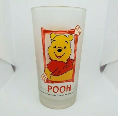 Winnie The Pooh Collectable Frosted Glass Best Friends