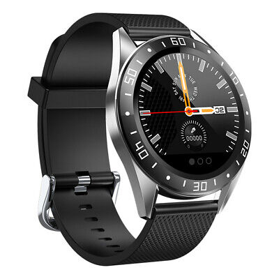 Bluetooth Smart Watch Heart Rate Blood Pressure Fitness Tracker For iOS Android