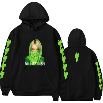 Billie Eilish Men's Women's Hoodie Print Printed Pattern Sweatshirt Unisex Tops