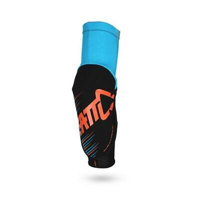 LEATT ELBOW GUARD - 3DF 5.0 - Ellbogen Protektor - blau-orange Motocross Enduro