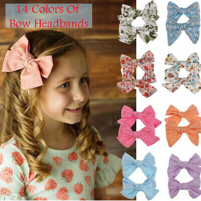 Big Bows Floral Boutique Hair Clip Pin Alligator Clips Grosgrain Ribbon Bow Girl