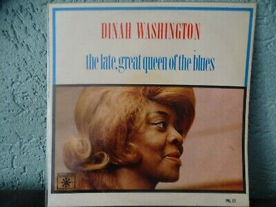 Dinah Washington The Late Great Queen Of The Blues Roulette Dutch LP
