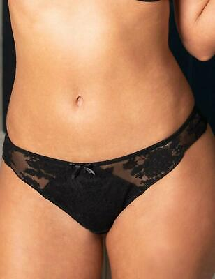 Pour Moi Muse Brazilian Brief 15903 New Sexy Lingerie Womens Knickers Black
