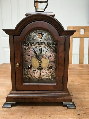 Vintage Dutch striking Clock with Moon Phase