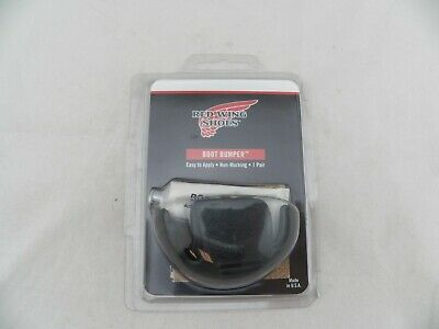 Red Wing Shoes Boot Bumper One Pair Toe Area Wear Fix NEW Black Free Shipping!