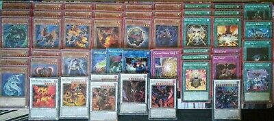 Yugioh Hot Red Dragon Archfiend - Resonator 50 card Sleeved Deck + Tin + 50cards