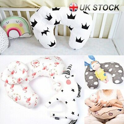 Soft Newborn Baby Breast Feeding Support Nursing Cotton Maternity Pillow U-shape