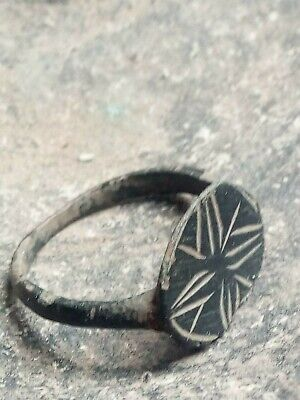 Authentic Medieval Bronze ring
