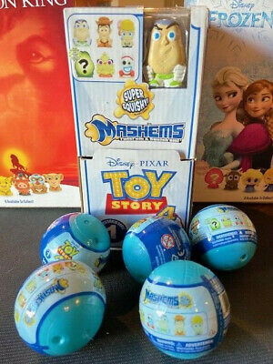 (5X) (Sealed) Mashems-Fashems *Disney Toy Story 4-** PLUS Display with BUZZ **