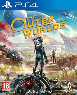 The Outer Worlds (PS4)  BRAND NEW AND SEALED - IN STOCK - QUICK DISPATCH