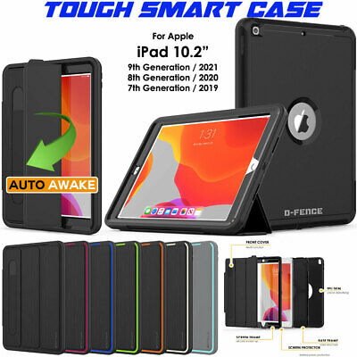 """for Apple iPad 10.2"""" 2019 7th Tough Rugged ShockProof Armour Smart Case Cover"""