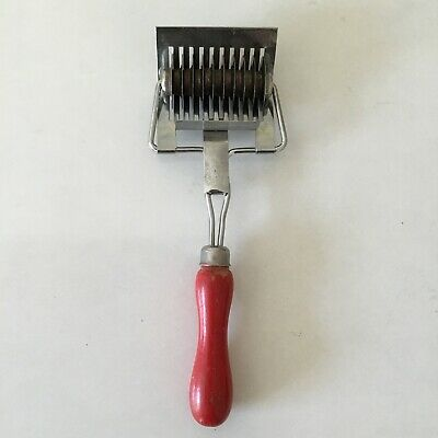 Red Tala Pastry Cutter Vintage Kitchenalia For Baking