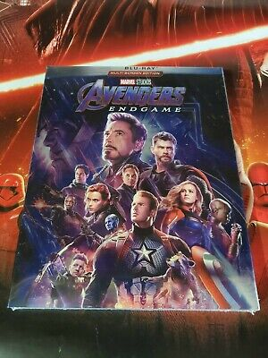 Avengers End Game Blu-Ray / 2019 New & Sealed Free Shipping!