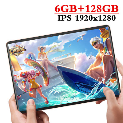 Tablet New 2020 Android 9.0 6GB-128GB Dual Camera 8 Core SIM WiFi GPS 4G Phone