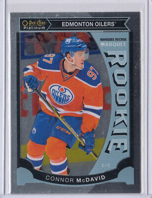2015-16 O-Pee-Chee Platinum Marquee Rookie Connor Mcdavid