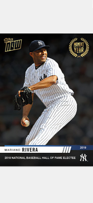 2019 Topps Now Moment Of The Year Card New York Yankees Mariano Rivera #Moy-16