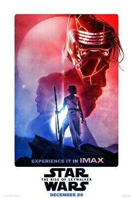 "Star Wars The Rise Of Skywalker Poster Episode IX Movie IMAX Print 40x27"" 36x24"""