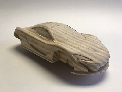 Pre Cut Pinewood Derby Car Charger Replica 070 99 00