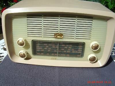 Vintage Hmv 'Little Nipper'  Mantle Radio, Good Cond. Needs Power Cord