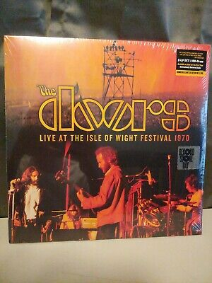 The Doors Live At The Isle Of Wight Festival 1970 RSD Black Friday Vinyl LP 2019