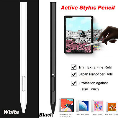 Capacitive Active Stylus Pencil Kit for iPad Pro Air 3rd Gen/iPad 6th/iPad 7th
