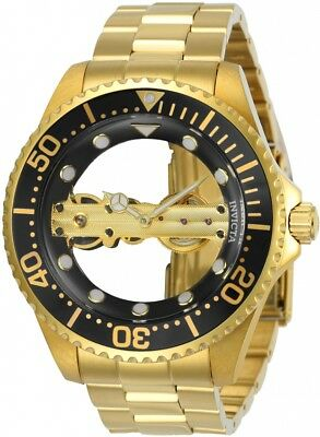 Invicta Men's Pro Diver Stainless Steel Mechanical Dial Watch 24694